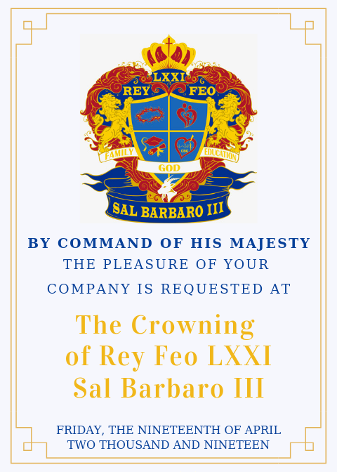 Crowning Announcement 2019